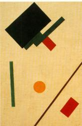 Kasimir Malevich. Composition suprématiste (1915)