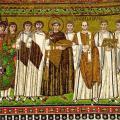 L'empereur Justinien et sa suite (6e s.)
