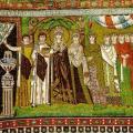 L'impératrice Théodora et sa suite (6e s.)