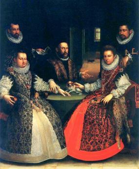 Lavinia Fontana. Portrait de la famille Gozzadini (1584)