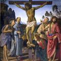 Le Pérugin et Luca Signorelli. Crucifixion (1485-90)