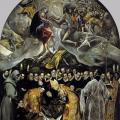 Le Greco. L'Enterrement du comte d'Orgaz (1586-88)