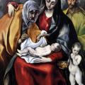 Le Greco. La Sainte Famille (1586-88)