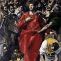 Le Greco. Le Partage de la tunique du Christ ou El Espolio (1577-79)