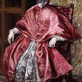 Le Greco. Portrait d'un cardinal (v. 1600)