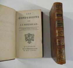 Les Confessions, édition originale de 1782