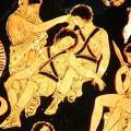 Les Euménides d'Eschyle, détail 2 (380-370)