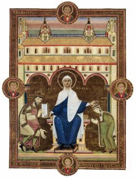 Les Évangiles d'or de Henri III (1043-46)
