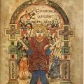 Livre de Kells, folio 114r (v. 820)