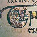 Livre de Kells, initiale enluminée (v. 820)