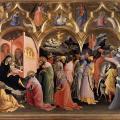 Lorenzo Monaco. L'Adoration des Mages (v. 1422)