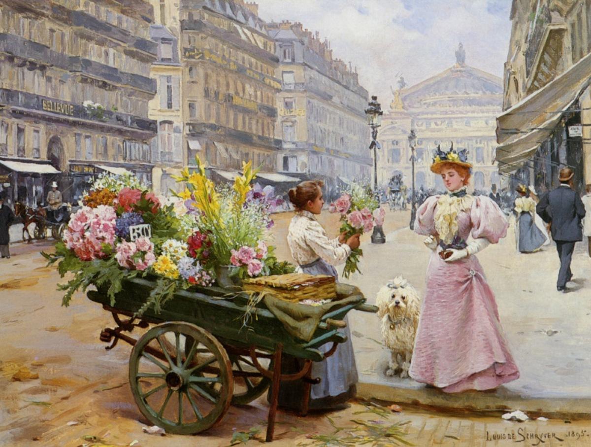 Populaire Biographie et œuvre de Louis Marie de Schryver (1862-1942) FT33