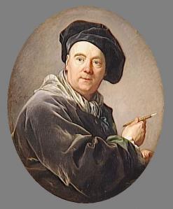 Louis-Michel van Loo. Portrait de Carle van Loo (1764)