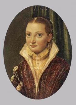 Lucie Anguissola. Portrait de Sofonisba (1560-65)