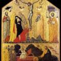 Maître de la Résurrection. Noli me tangere (v. 1350)