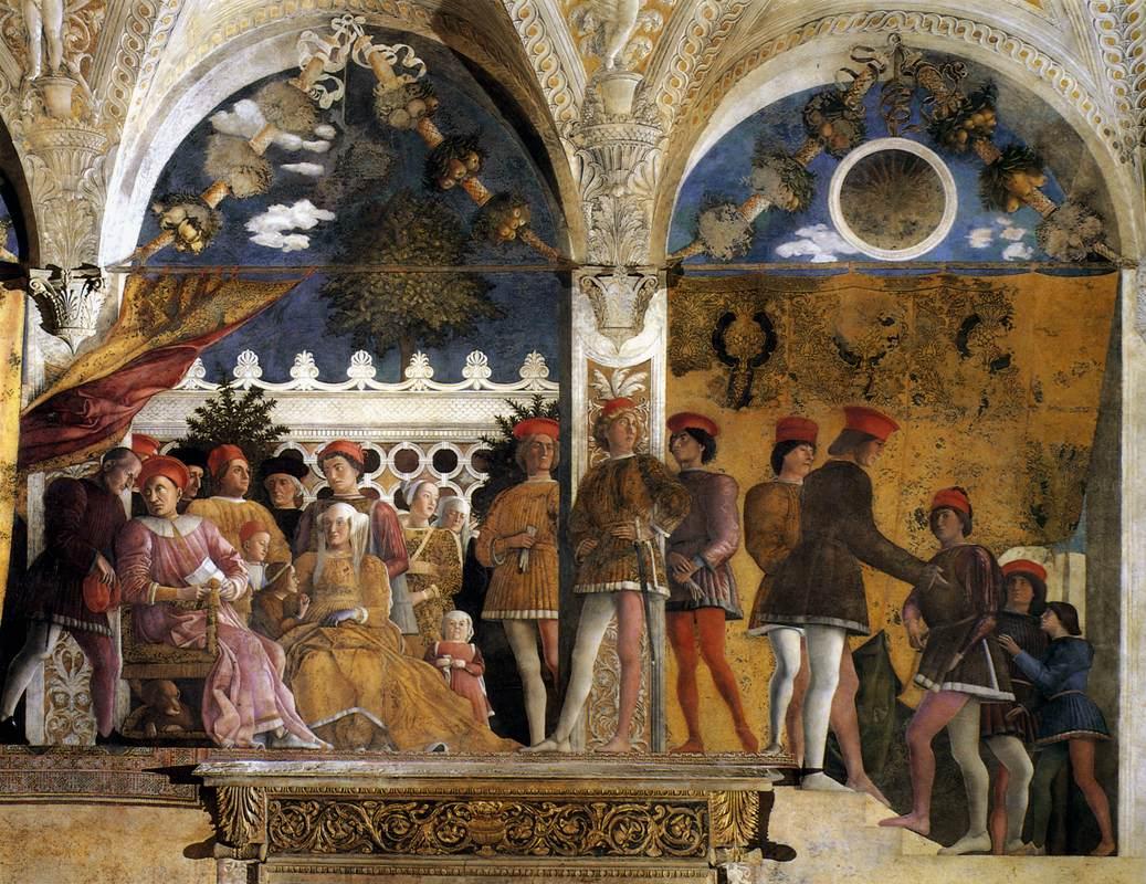 Biographie et uvre de andrea mantegna for Mantova la camera degli sposi