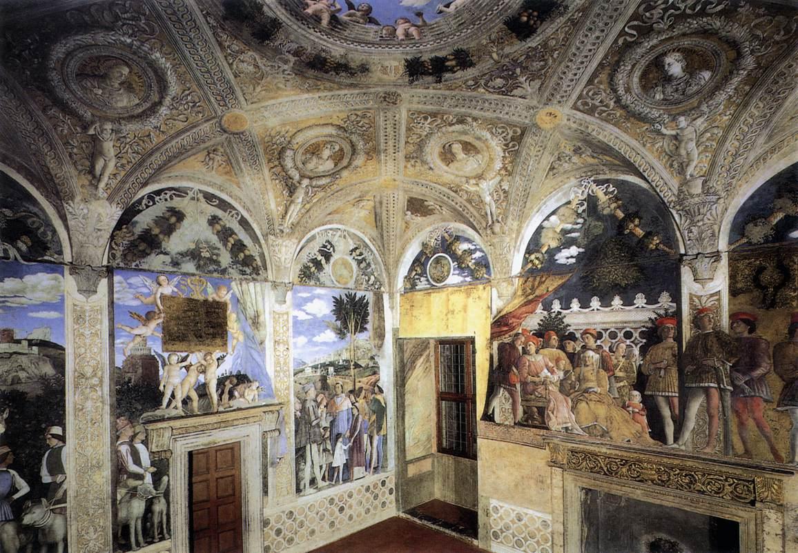 Biographie et uvre de andrea mantegna for La chambre de giovanni