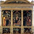 Andrea Mantegna. Polyptyque de San Zeno (1457-59)