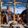 Mantegna. Polyptyque de saint Zénon. Crucifixion (1457-60)