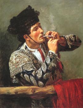 Mary Cassatt. Après la corrida (1873)