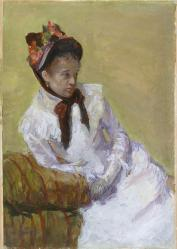 Mary Cassatt. Autoportrait (1878)