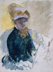 Mary Cassatt. Autoportrait (1880)