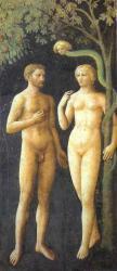 Masolino. Chapelle Brancacci, Adam et Eve (1426-27)