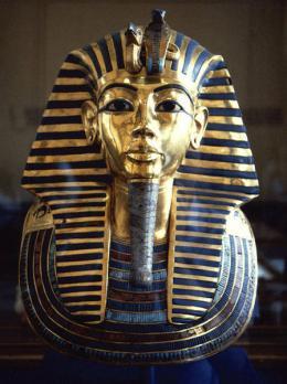 Masque funeraire de toutankhamon v 1327