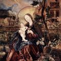 Matthias Grünewald. La Vierge de Stuppach (1517-19)
