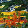 Max Pechstein. Nus dans la nature (1911)