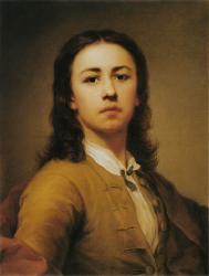 Mengs. Autoportrait, 1744
