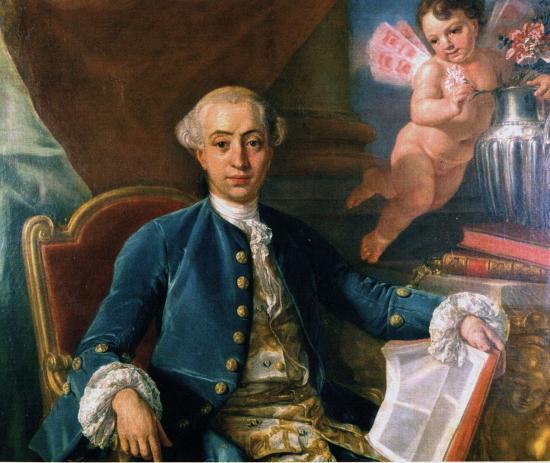 Mengs. Giacomo Casanova (1760)