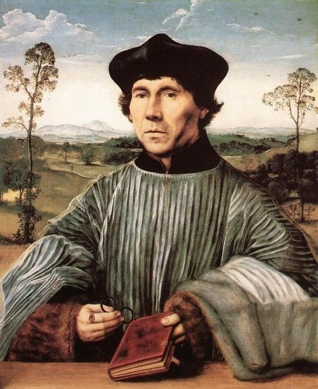 Metsys. Portrait d'un chanoine (1510)