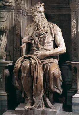 Michel-Ange. Moïse (1513-15)