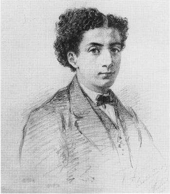 Nathaniel Sichel. Max Liebermann à seize ans (v. 1863)