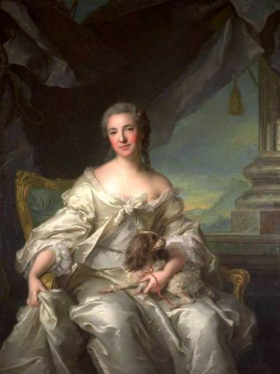 Nattier. Comtesse d'Argenson (1743)