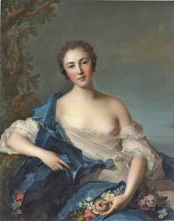 Nattier. Pauline Félicité de Mailly-Nesle (v. 1740)