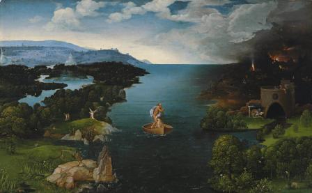Patinir. La traversée du Styx (1515-24)