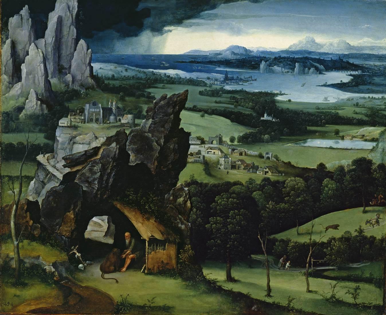 Histoire de la peinture de paysage au 16e si cle for Le paysage