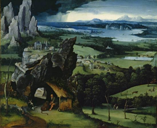 Patinir. Paysage avec saint Jérôme (1515-19)