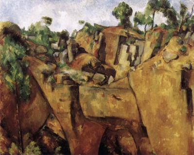 Paul Cézanne. Carrière de Bibémus (1898-1900)