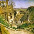 Paul Cézanne. La maison du pendu, Auvers-sur-Oise (1873)