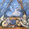 Paul Cézanne. Les grandes baigneuses (v. 1906)
