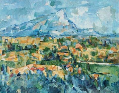 Paul Cézanne. Montagne Sainte-Victoire (1902-04)