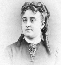 Photographie d'Eva Gonzalès (v. 1870)
