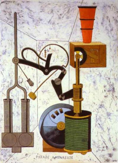 Picabia. Parade amoureuse (1917)