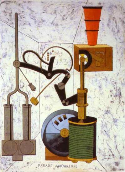 Picabia. Parade amoureuse (1917)