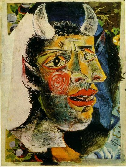 Picasso. Tête (1938)
