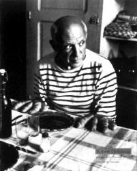 Picasso par Robert Doisneau