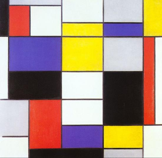 Piet Mondrian. Composition A (1923)